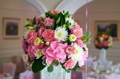 2 Bridal Bouquet Pink Wedding (5)