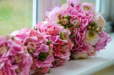 2 Bridal Bouquet Pink Wedding (6)