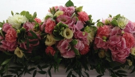 2 Bridal Bouquet Pink Wedding (8)