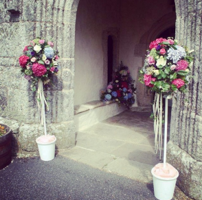 Entrance Church
