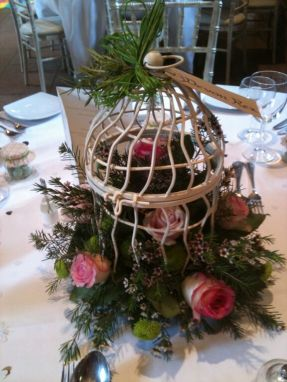 May 2011 - Bird Cage Table Centre