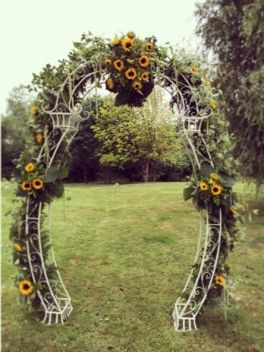 Sunflower Wedding (1)