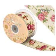 frayed-edge-vintage-burlap-rose-print-50mm-x-10-meters-wholesale