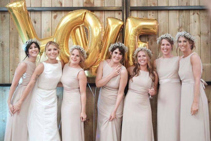 Afton and Tim | DIY Wedding Flowers | Gypsophila Wedding Blog | Triangle Nursery Ltd