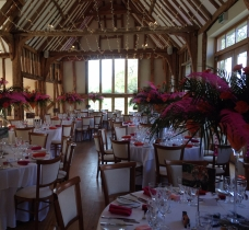 Bollywood Evening | Floristry: Triangle Nursery Ltd | Venue: Easton Grange